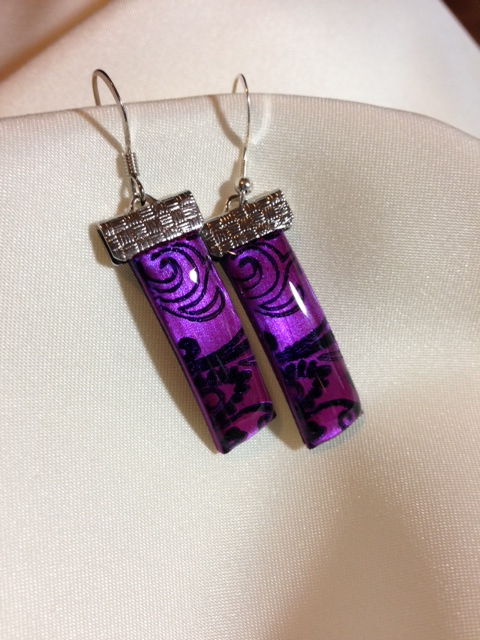 VioletEarrings